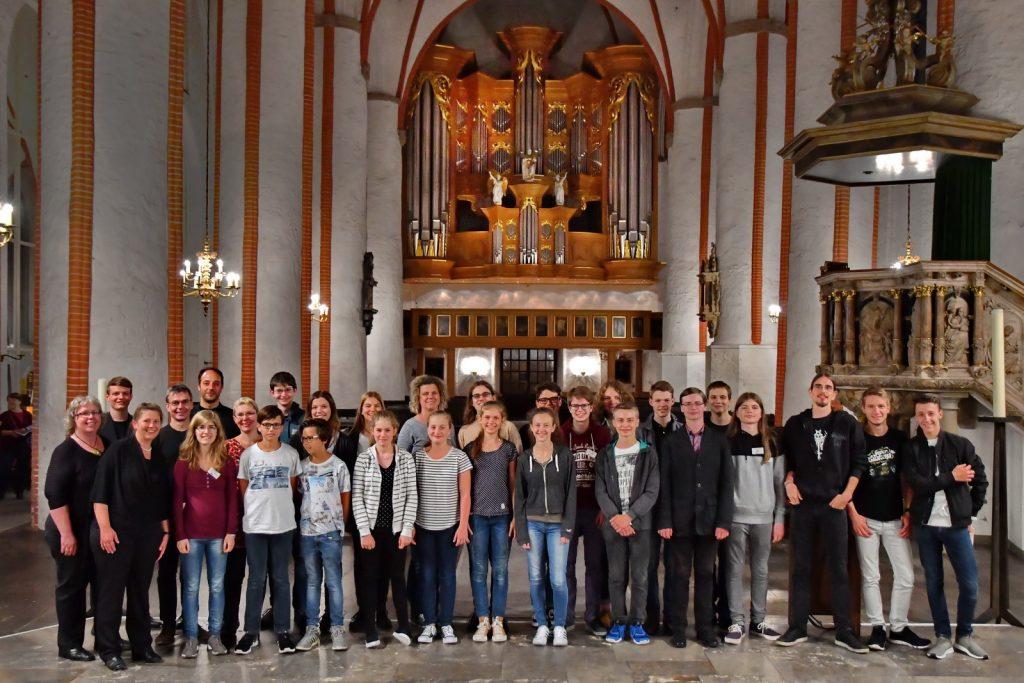Teilnehmer des Jugend-Orgelforums 2017